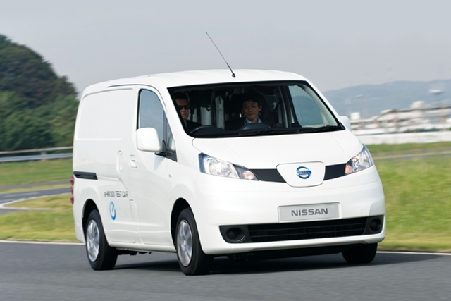 First Drive: Nissan e-NV200