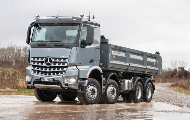 Mercedes benz arocs international fleetworld for International mercedes benz