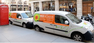 Fruit 4 London to go 100% electric after free EST review identified £9k saving per vehicle