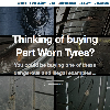 New website highlights the dangers of buying used tyres