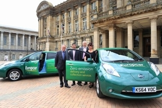Europcar Launches Electric Vehicles In Birmingham
