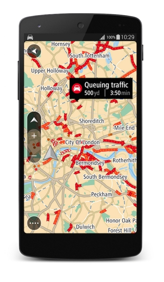 Free TomTom GO Mobile Android app launched globally - International