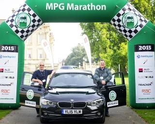 Former fleet manager is 'most efficient fleet driver' at MPG Marathon