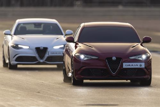 WORLD FIRST: ALL-NEW ALFA ROMEO GIULIA SETS NEW LAP RECORD AT SILVERSTONE – 'BLINDFOLDED'