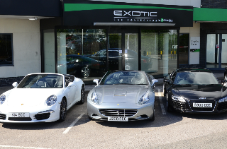 New Enterprise Exotic Car Collection Targets Luxury Renters