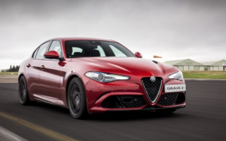 The Alfa Romeo Giulia has been named a 'Game Changer' at the 2017 Autocar Awards