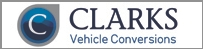 Advertisement from Clarks Vehicle Conversions
