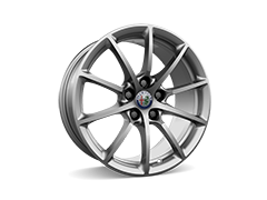 17inch 10-spoke alloy wheels