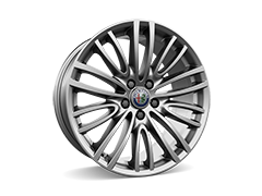 18inch Dual multi-spoke design alloy wheels with 225/45 8J (front) and 255/40 9J (rear) tyres