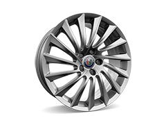 18inch Turbine design alloy wheels with 225/40 R18 tyres