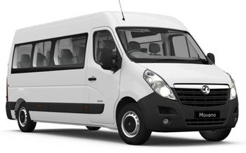 Movano Minibus 3900 2.3 CDTi BiTurbo 145PS S/S Tacho BlueInjection L3H2 FWD