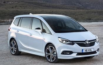 Vauxhall New Zafira Tourer Design