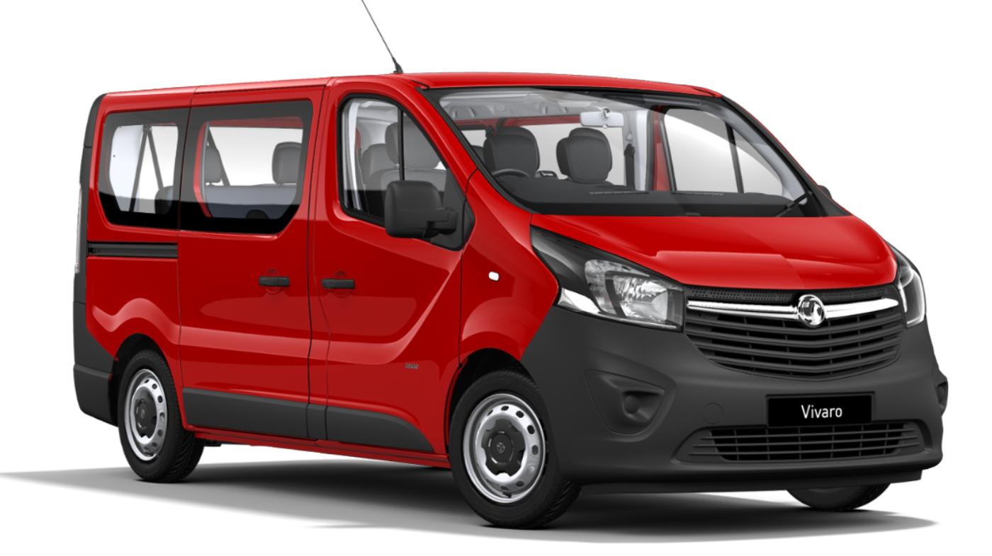 Vauxhall Vivaro 2900 1.6 CDTi 16V L2h1 95ps 9-seat Euro 6
